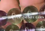 CFL588 15.5 inches 10mm round AAAAA grade fluorite gemstone beads