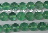 CFL613 15.5 inches 10mm round A grade green fluorite beads wholesale