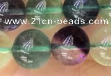 CFL921 15.5 inches 10mm round fluorite gemstone beads