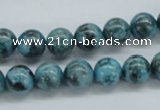 CFS103 15.5 inches 10mm round blue feldspar gemstone beads
