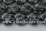CFS311 15.5 inches 10mm flat round feldspar gemstone beads