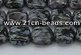 CFS320 15.5 inches 10*10mm square feldspar gemstone beads