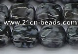 CFS322 15.5 inches 15*15mm square feldspar gemstone beads