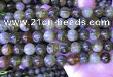 CGA702 15.5 inches 10mm round green garnet beads wholesale