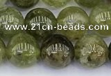 CGA712 15.5 inches 8mm round natural green garnet gemstone beads