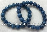 CGB2625 7.5 inches 10mm round natural apatite beaded bracelets