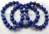 CGB2628 7.5 inches 10mm round natural kyanite beaded bracelets