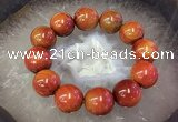 CGB3011 7.5 inches 20mm round agate bracelet wholesale