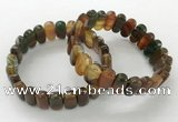 CGB3111 7.5 inches 8*15mm oval agate gemstone bracelets