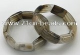 CGB3200 7.5 inches 18*29mm agate gemstone bracelets wholesale