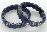 CGB3455 7.5 inches 10*15mm faceted marquise lapis lazuli bracelets