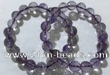CGB4016 7.5 inches 9mm faceted round ametrine beaded bracelets
