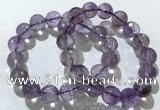 CGB4020 7.5 inches 13mm faceted round ametrine beaded bracelets