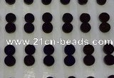 CGC93 10mm flat round druzy quartz cabochons wholesale