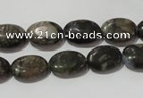 CGE131 15.5 inches 10*14mm oval glaucophane gemstone beads