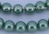 CGL230 5PCS 16 inches 20mm round dyed plastic pearl beads wholesale