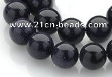 CGS03 15 inches 12mm round blue goldstone beads Wholesale