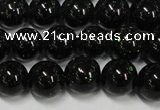 CGS401 15.5 inches 6mm round green goldstone beads wholesale