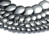 CHE23 16 inches 8mm & 10mm & 12mm & 20mm coin hematite beads