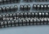 CHE967 15.5 inches 2*4mm rondelle plated hematite beads wholesale