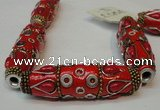 CIB15 17*60mm rice fashion Indonesia jewelry beads wholesale