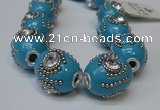 CIB160 19*22mm oval fashion Indonesia jewelry beads wholesale