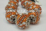 CIB184 18mm round fashion Indonesia jewelry beads wholesale
