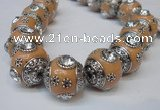 CIB191 19mm round fashion Indonesia jewelry beads wholesale