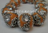 CIB202 19mm round fashion Indonesia jewelry beads wholesale