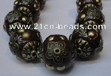 CIB225 18mm round fashion Indonesia jewelry beads wholesale