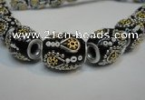 CIB302 15*20mm drum fashion Indonesia jewelry beads wholesale