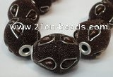 CIB493 18*23mm drum fashion Indonesia jewelry beads wholesale