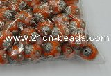 CIB503 22mm round fashion Indonesia jewelry beads wholesale