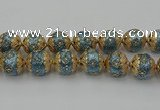 CIB551 22mm round fashion Indonesia jewelry beads wholesale