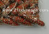 CIB621 16*60mm rice fashion Indonesia jewelry beads wholesale