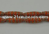 CIB635 16*60mm rice fashion Indonesia jewelry beads wholesale