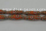 CIB647 16*60mm rice fashion Indonesia jewelry beads wholesale