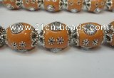 CIB80 16*22mm oval fashion Indonesia jewelry beads wholesale