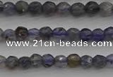 CIL116 15.5 inches 3mm faceted round iolite gemstone beads