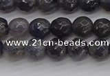 CIL118 15.5 inches 6mm faceted round iolite gemstone beads