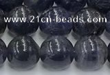 CIL128 15.5 inches 10mm round natural iolite beads wholesale