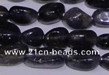 CIL40 15.5 inches 6*8mm nuggets natural iolite gemstone beads