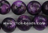 CJJ08 15.5 inches 18mm round dyed lucky jade beads wholesale