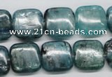 CKC27 16 inches 16*16mm square natural kyanite beads wholesale