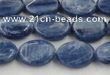 CKC532 15.5 inches 8*10mm oval natural Brazilian kyanite beads