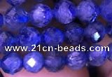 CKC732 15.5 inches 6mm faceted round kyanite gemstone beads