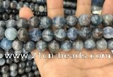 CKC754 15.5 inches 12mm round blue kyanite beads wholesale