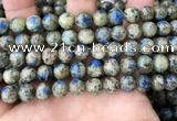 CKJ415 15.5 inches 8mm round k2 jasper beads wholesale