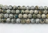 CKJ456 15.5 inches 12mm round natural k2 jasper beads wholesale