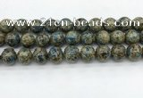 CKJ478 15.5 inches 14mm round natural k2 jasper beads wholesale
